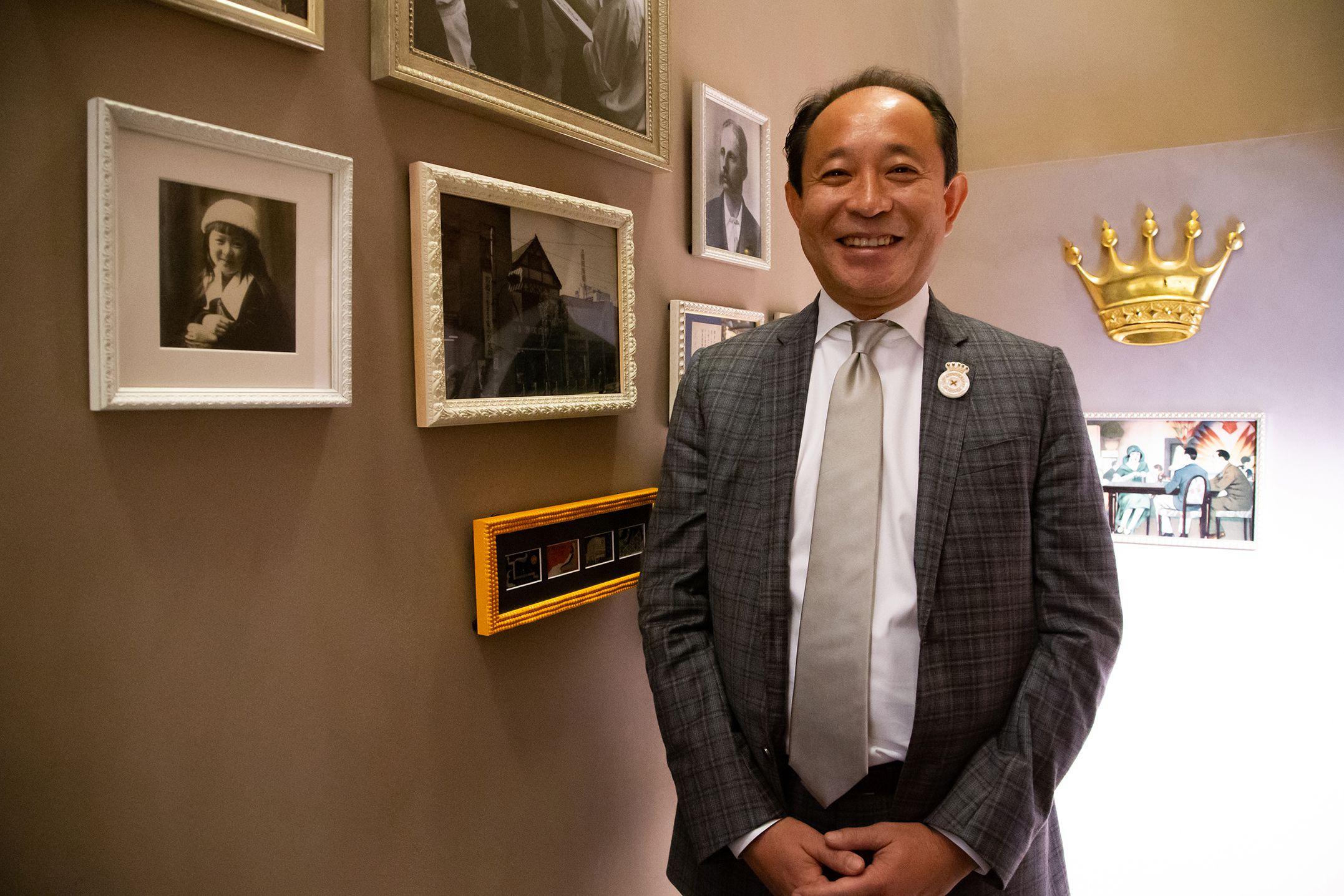 株式会社ギンザのサヱグサ 代表取締役社長 三枝亮氏