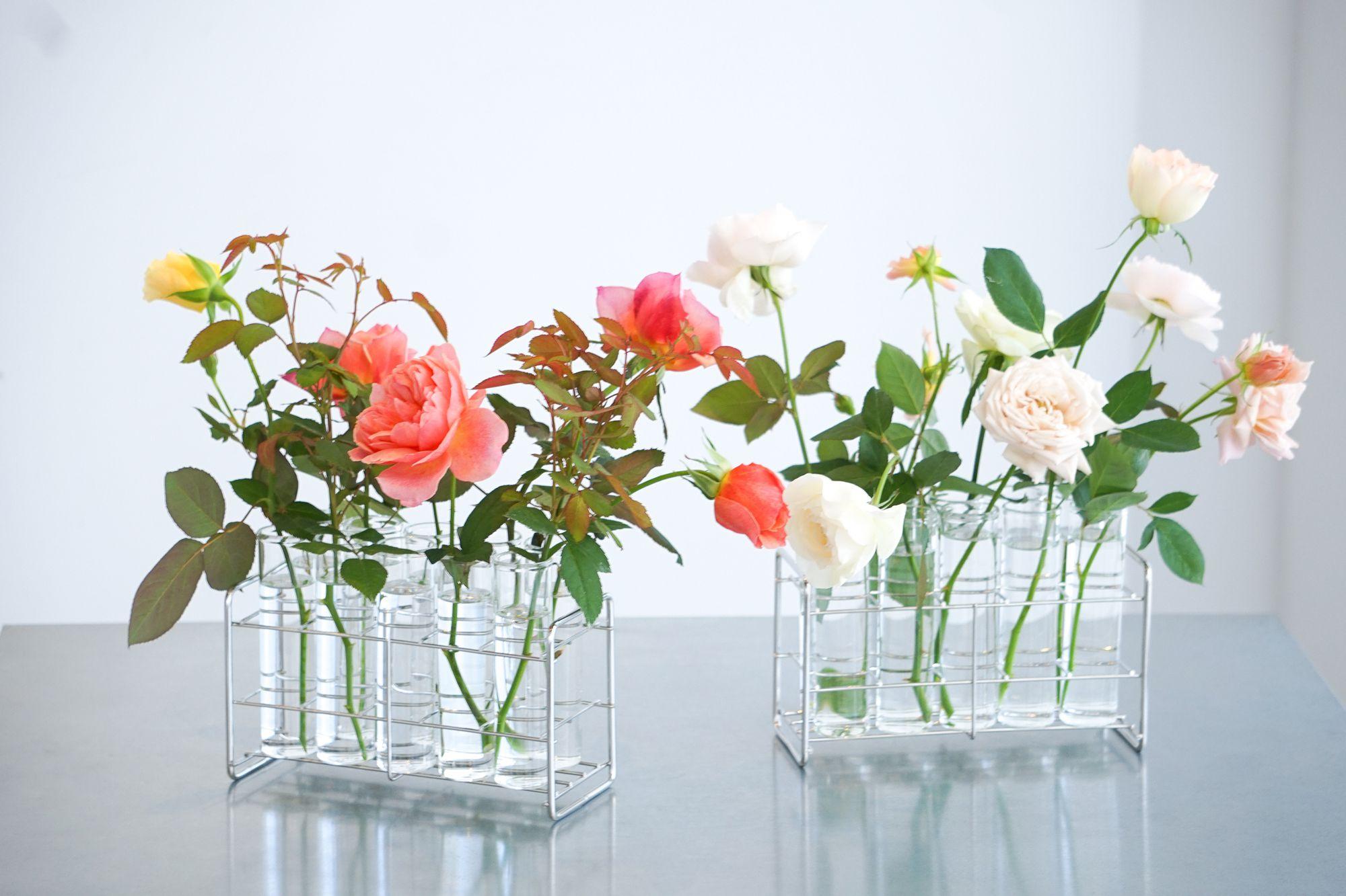 WABARAの特徴を生かすモダンな花器「vase 01」