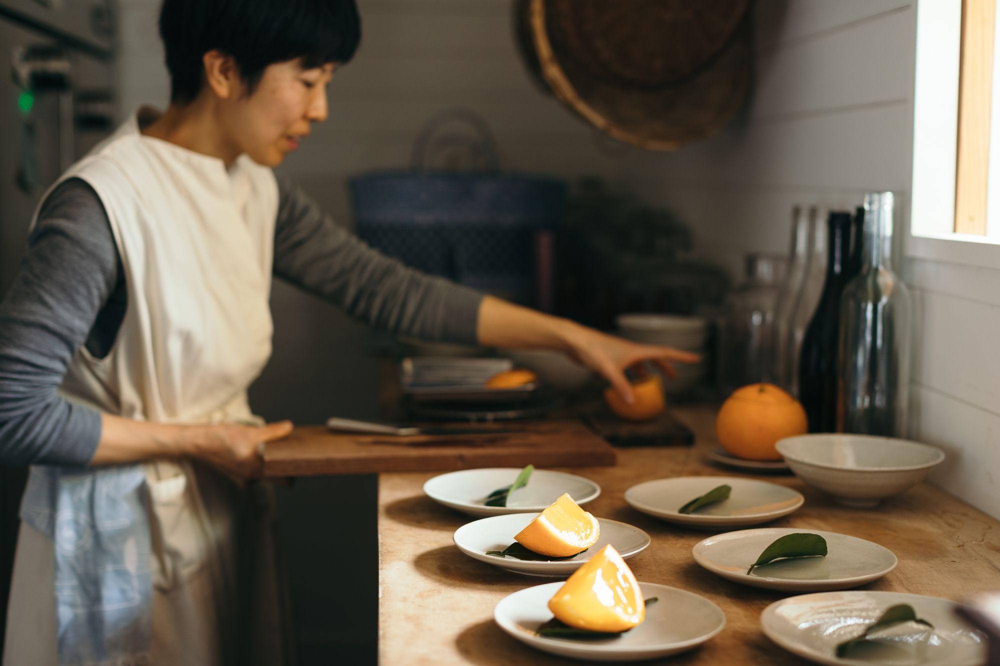 熊本の季節の果実でお菓子をつくるパティシエの渡辺薫子