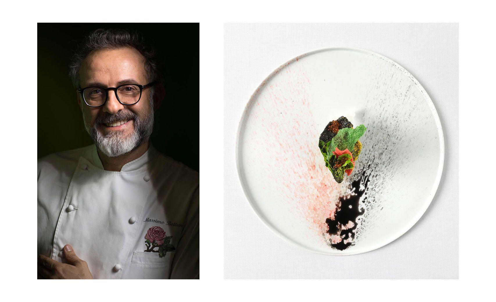 北義大利・摩德納的「Osteria Francescana」是今年開始榮登殿堂的8間餐廳之一。主廚Massimo Bottura在傳統的義式料理中融入嶄新的發想,創作出的料理為人津津樂道。