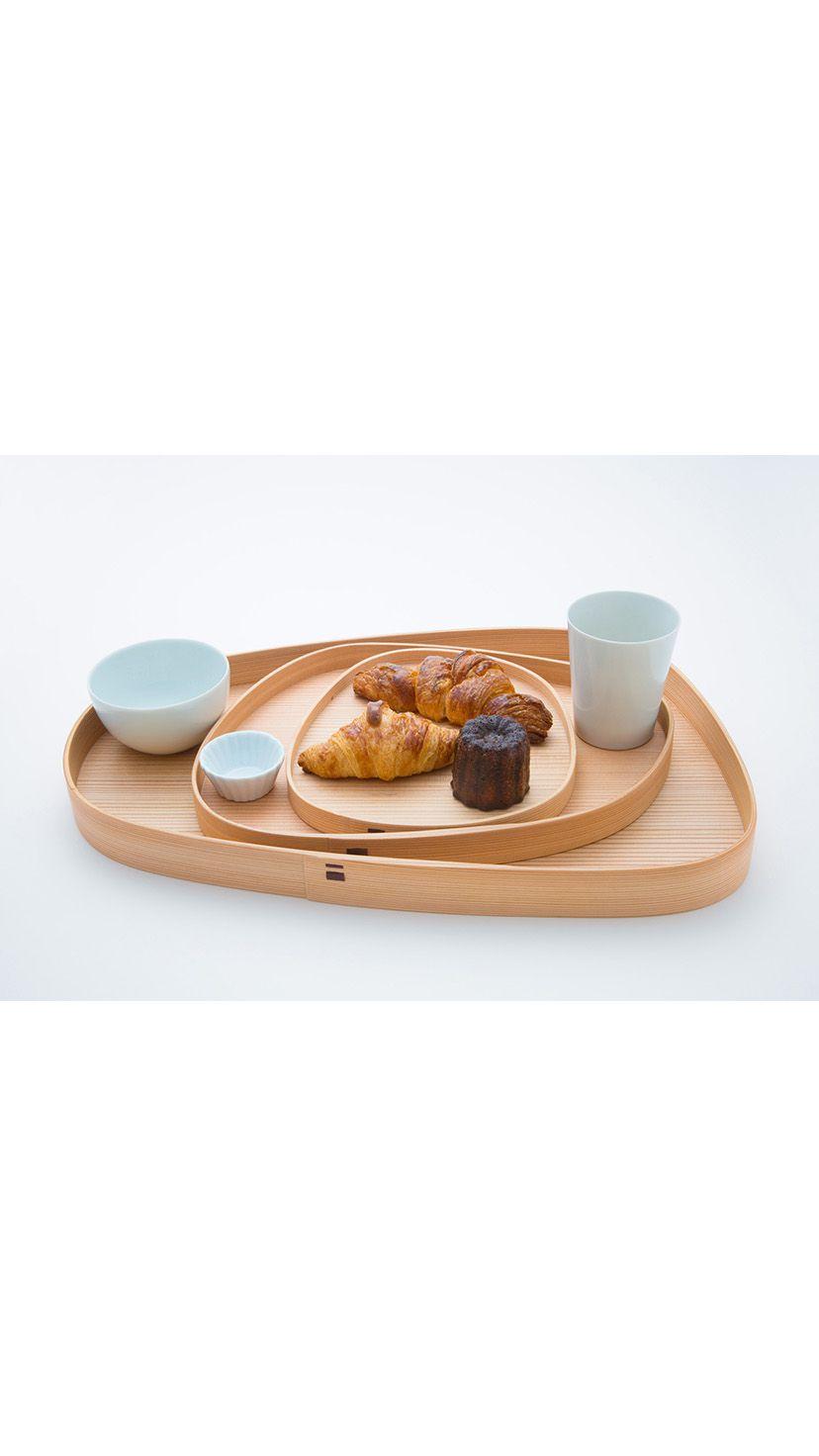 パン皿や盛り付け皿として使える「Pond Trays(ポンド・トレー)」