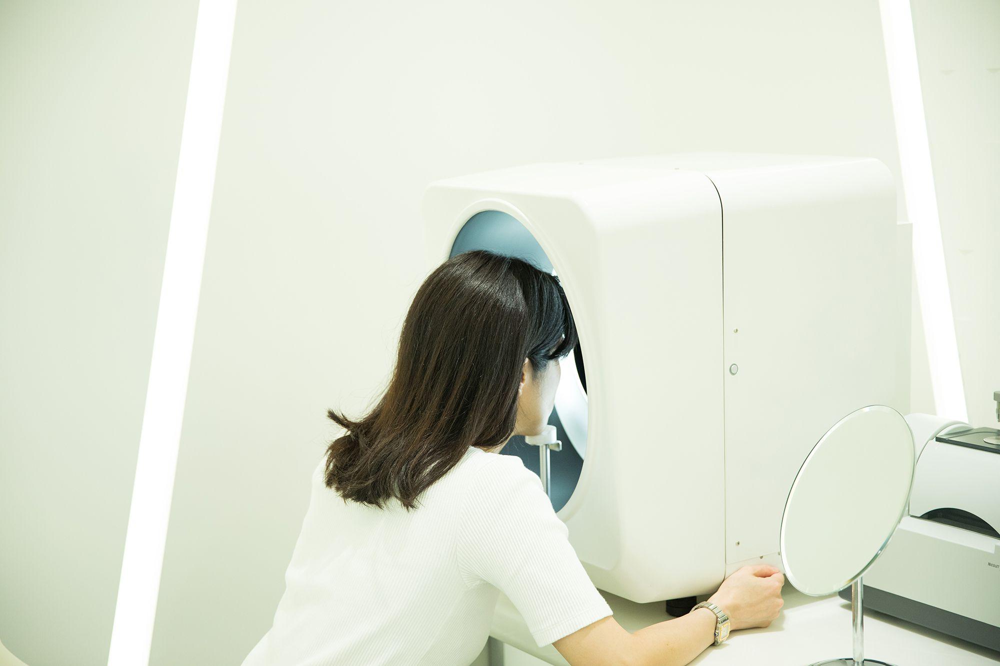 ソフィーナ肌解析機器