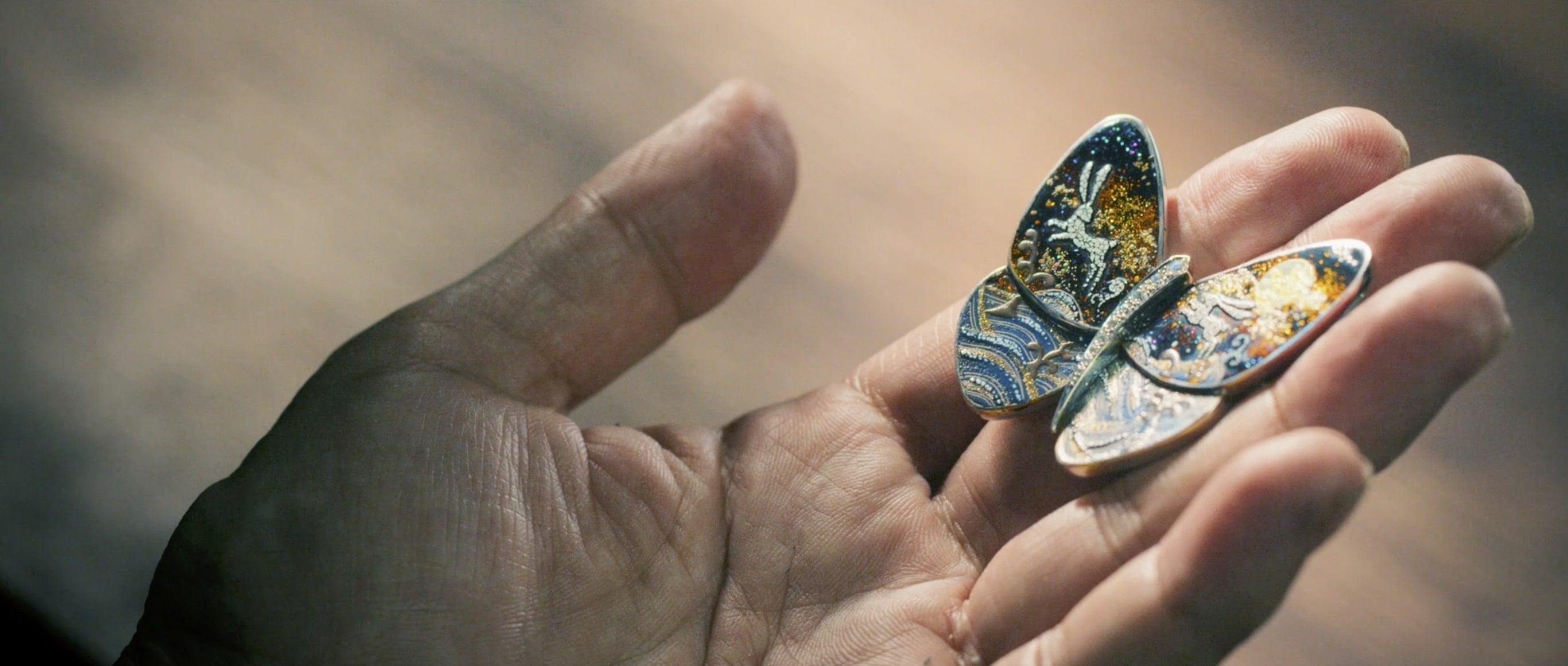 ヴァン クリーフ&アーペルと漆芸作家 箱瀬淳一の技を堪能するメイキングムービー公開