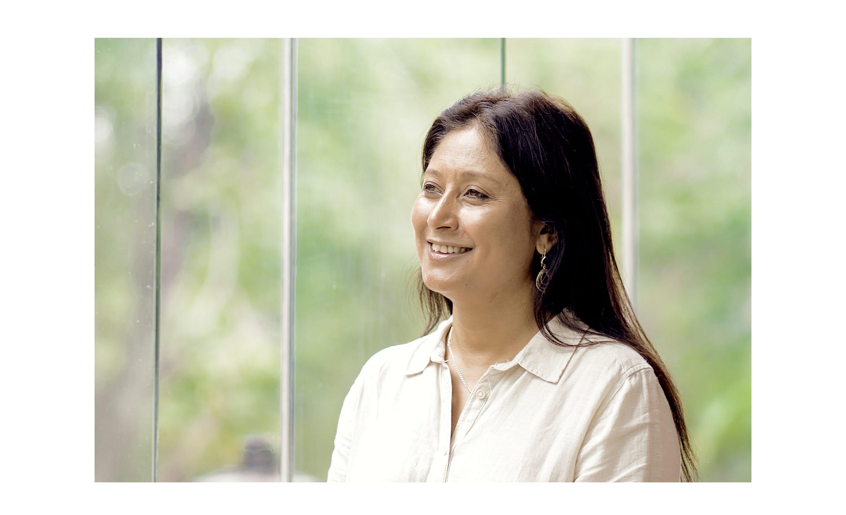 マザーテレサ賞など人権分野のほとんどの賞を受賞した社会起業家ハシナ・カービ。