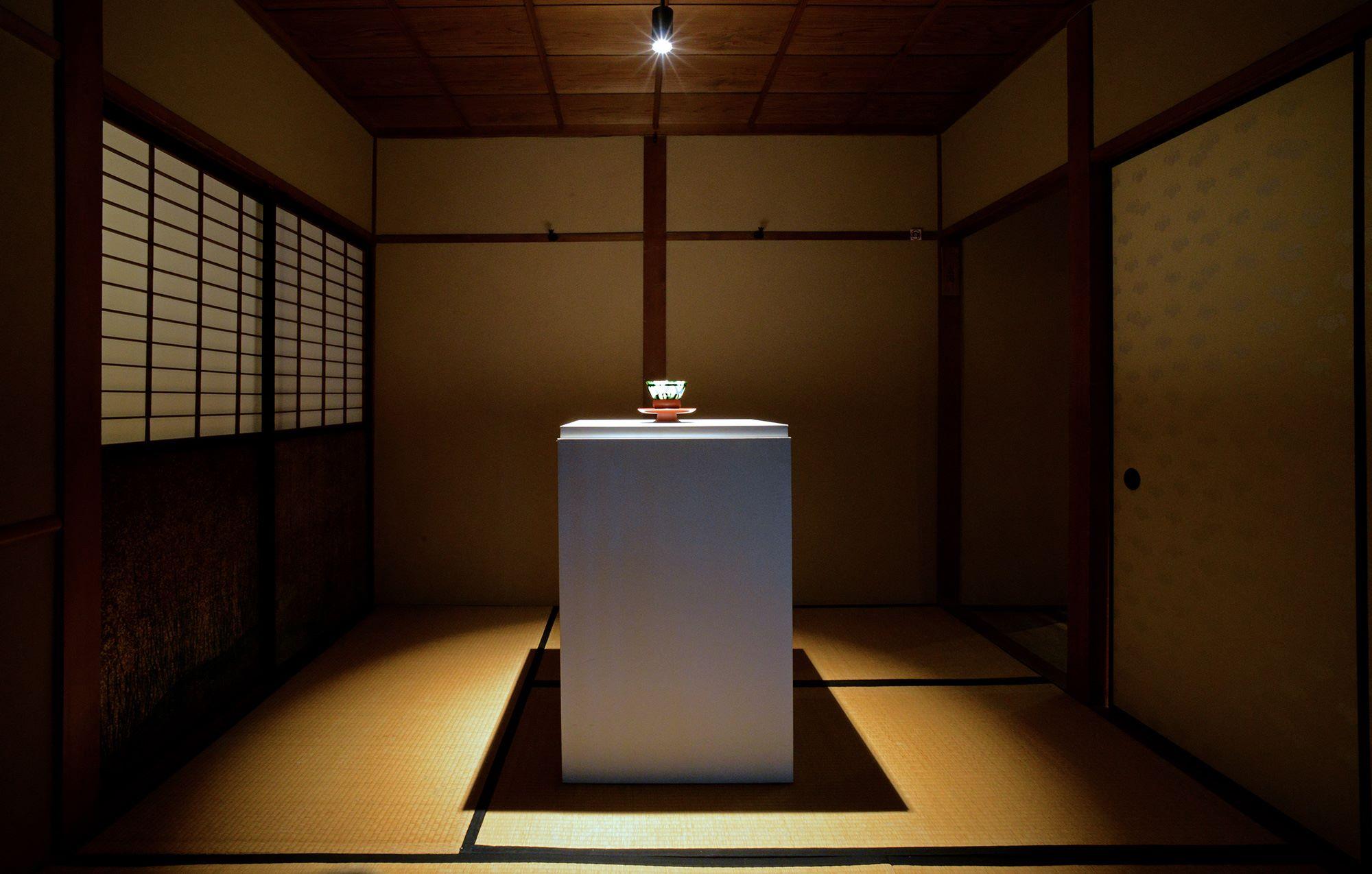 「爲三郎記念館 特別展 茶ー祈りと楽しみー」の様子。Photography by ? Furukawa Art Museum