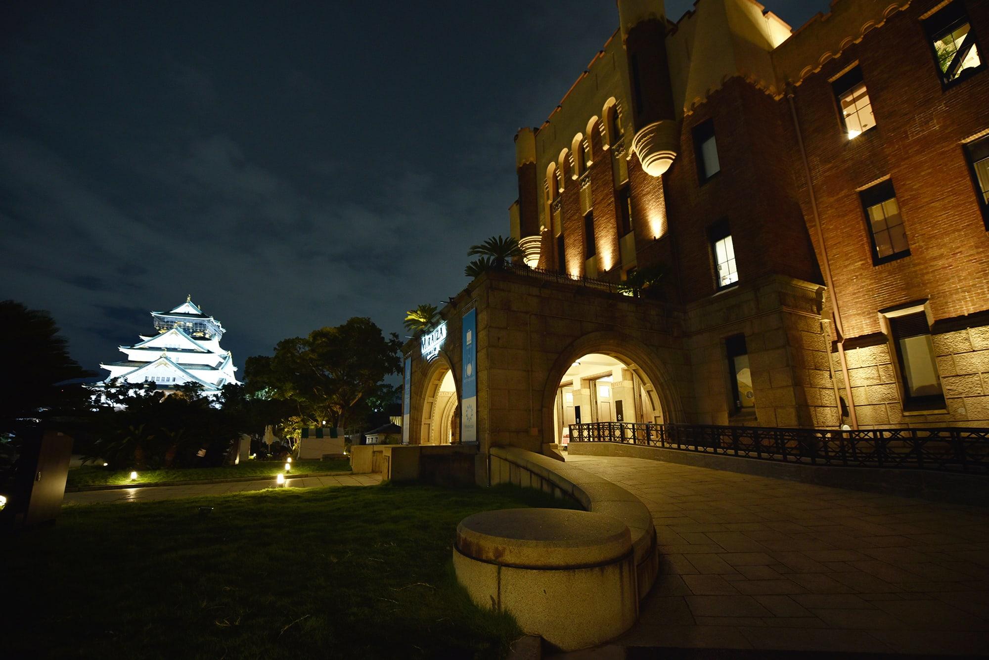 大阪城を目前にするミライザ大阪。「ルレ・エ・シャトー日本支部設立30周年記念」のグランド・ガラ・ディナーの会場だ。