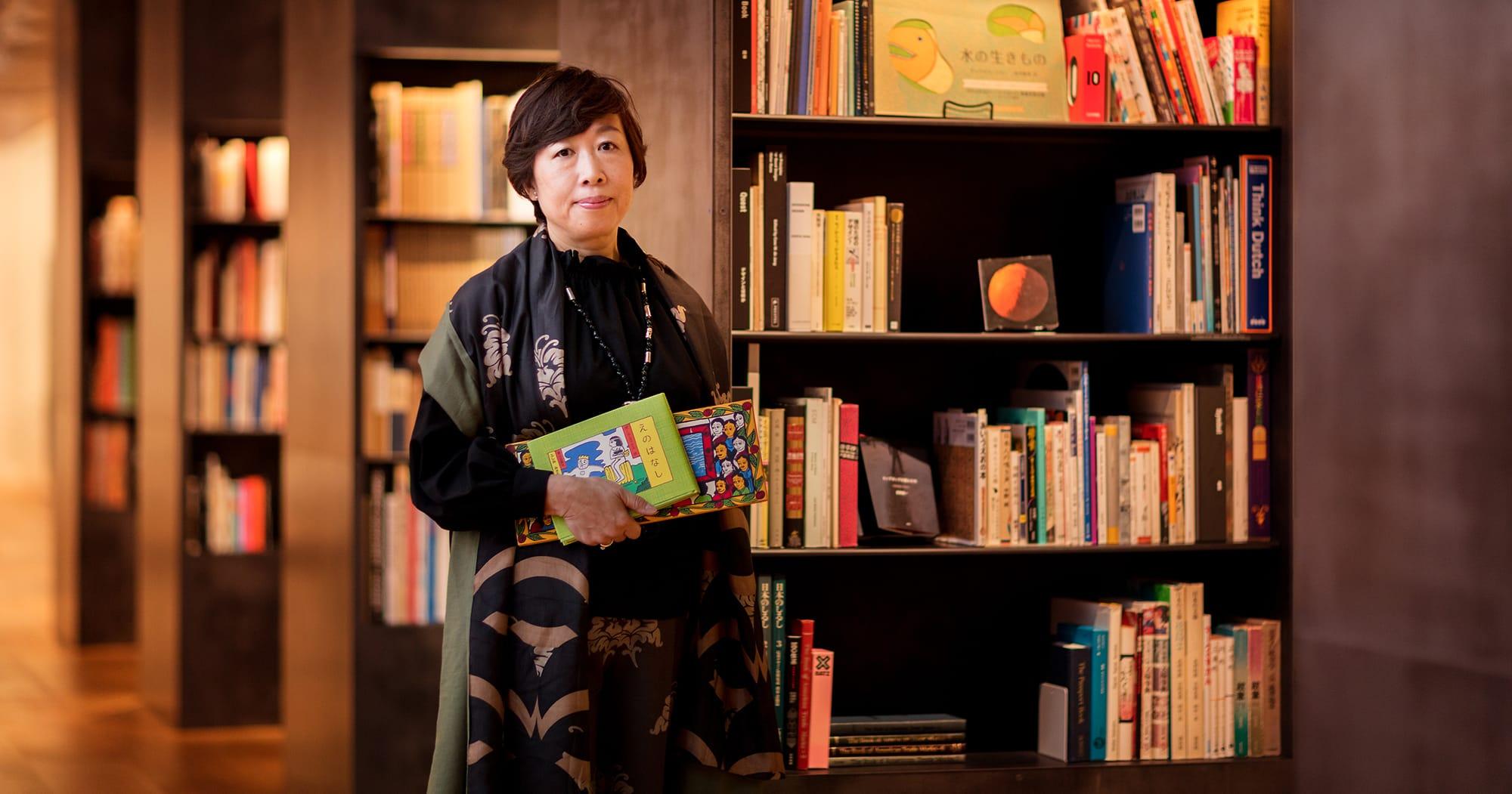 板橋区立美術館の館長代理を務める松岡希代子さん