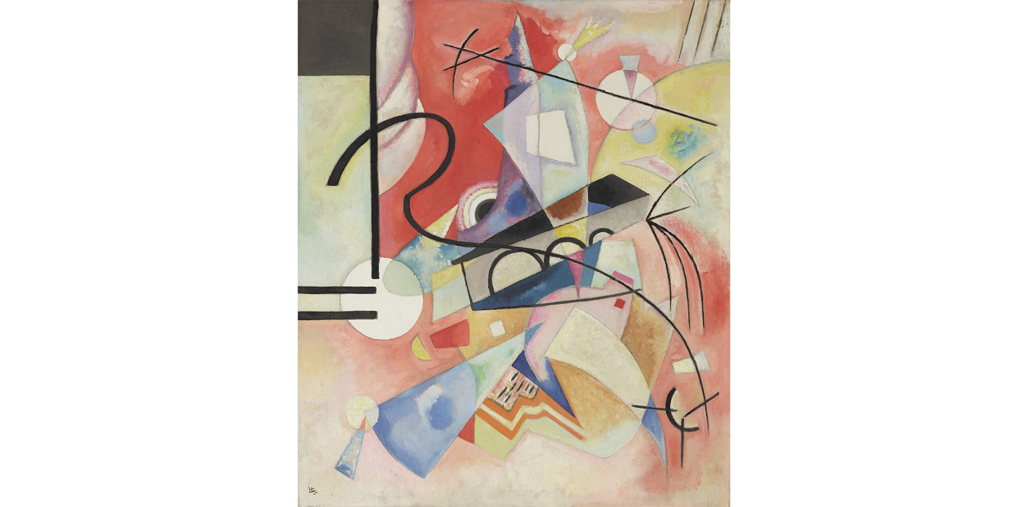 ヴァシリー・カンディンスキー《自らが輝く》1924年 石橋財団アーティゾン美術館蔵(新収蔵作品)