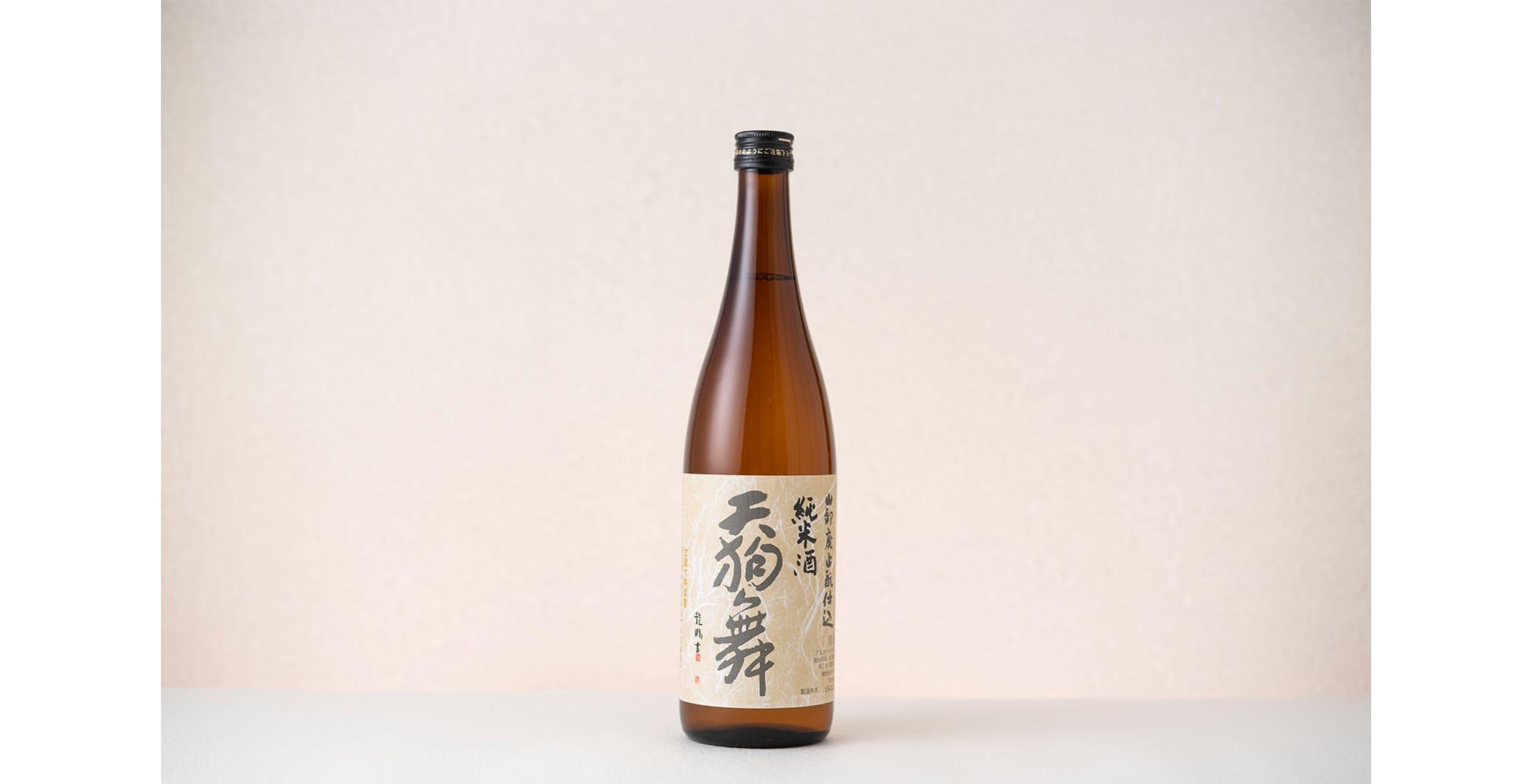 """""""天狗舞 山废酿造纯米酒"""" 720ml  1,400日币(不含税)"""