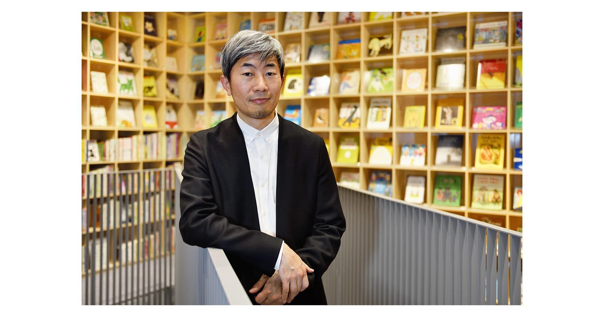 「こども本の森 中之島」は図書館ではなくこどものための文化施設。子どもがワクワクする場所をつくりたい」と語る幅允孝。