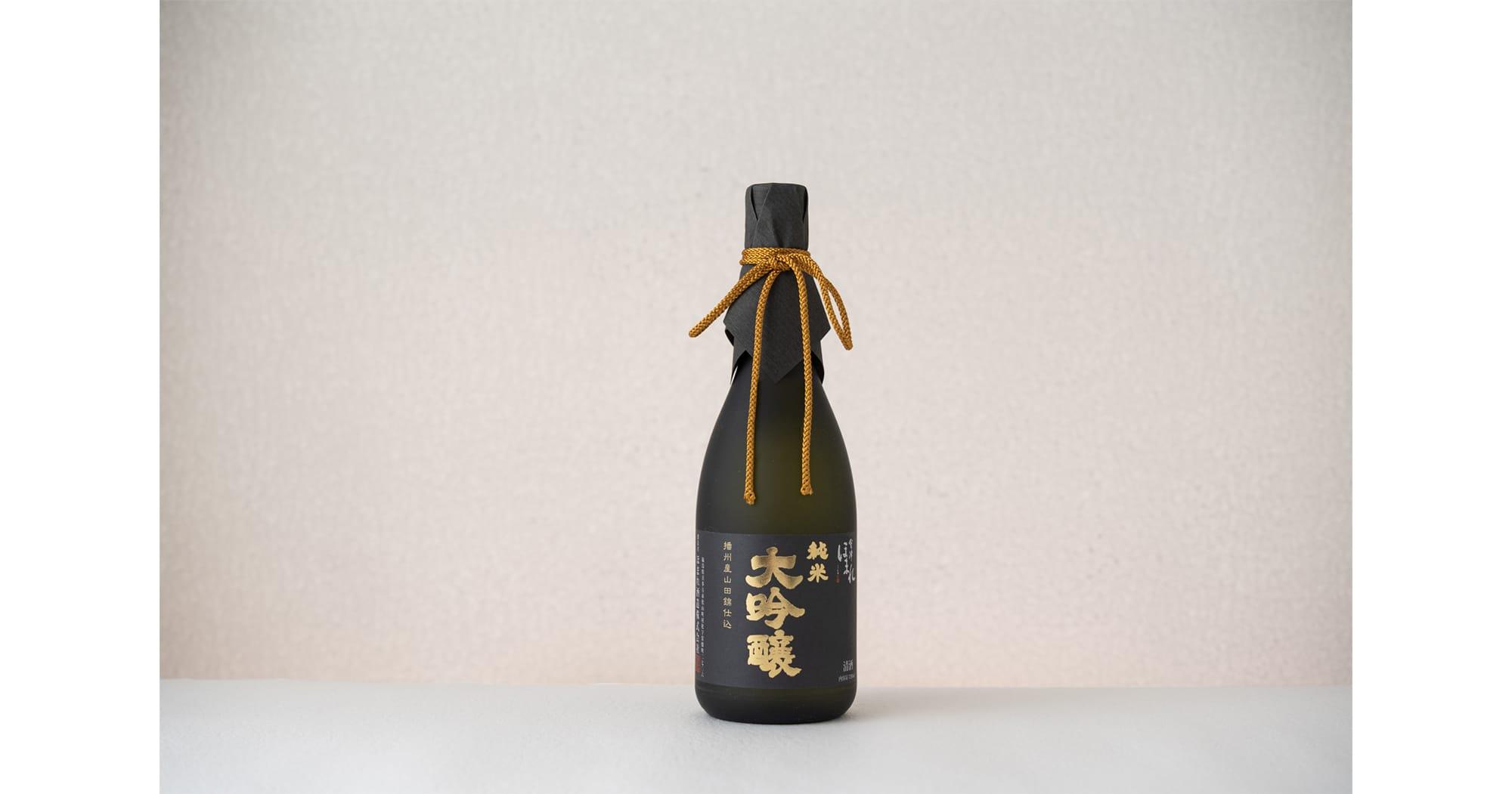 「播州産山田錦仕込 純米大吟醸酒」720ml 3,500円(税抜)