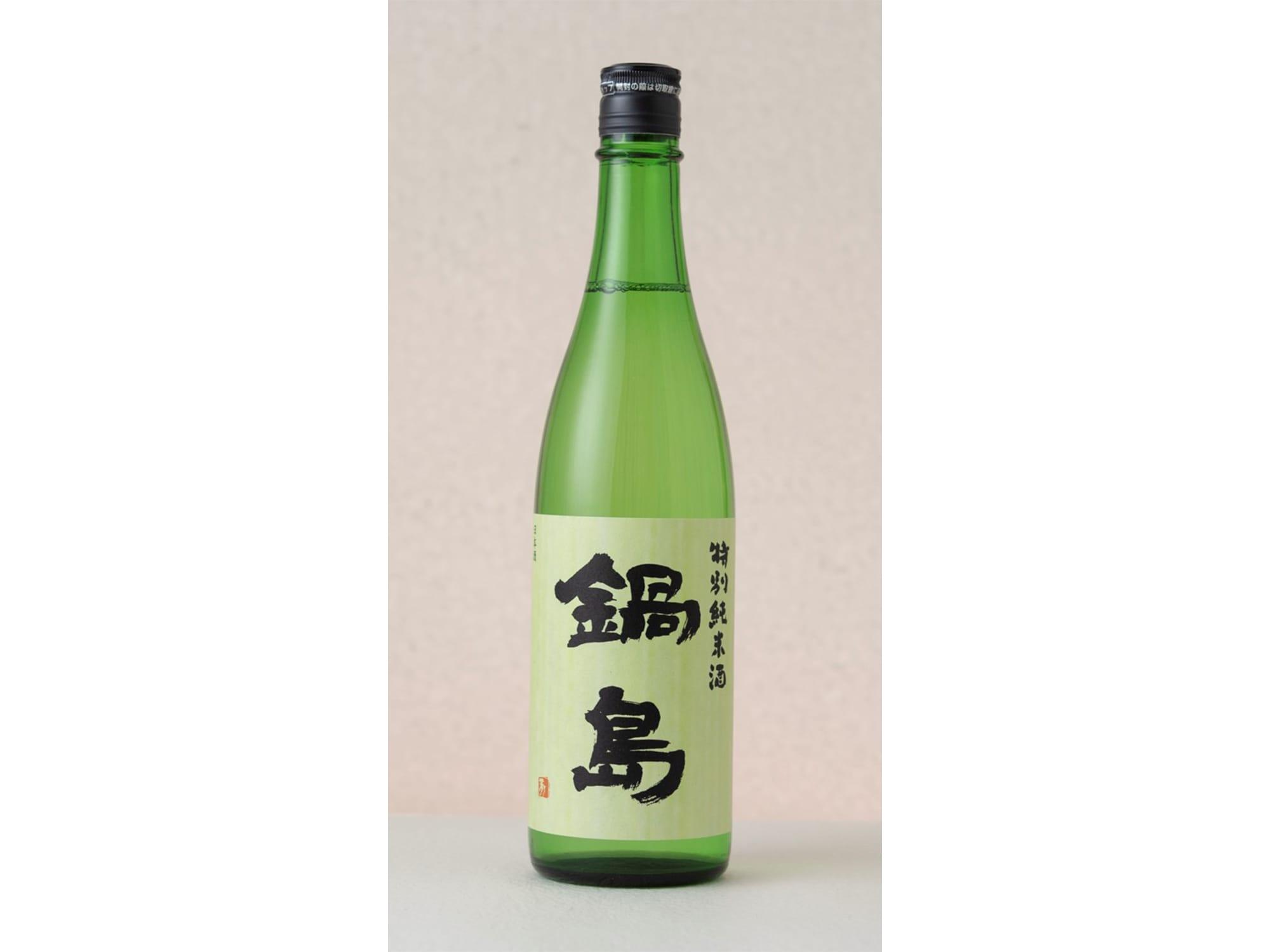 「鍋島 特別純米酒」720ml 1,428円(税抜)