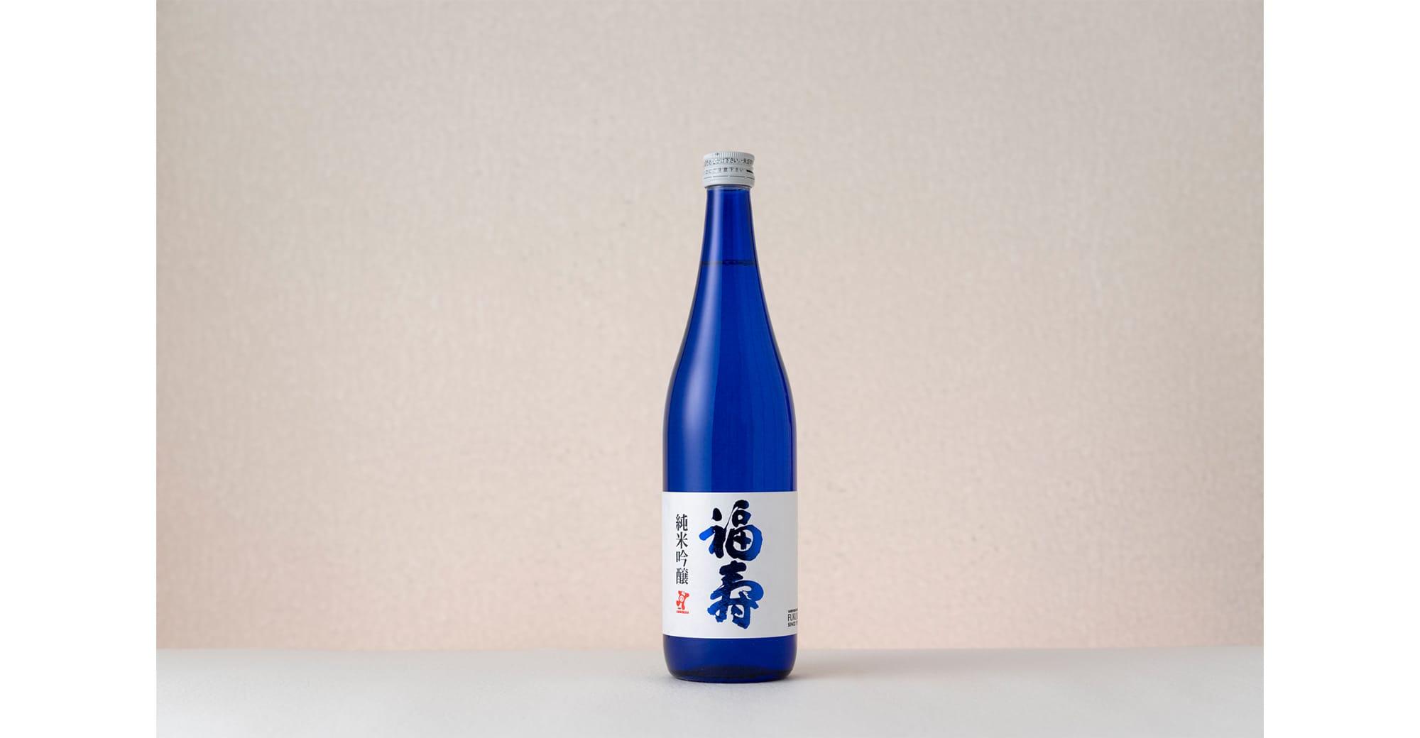 「福寿 純米吟醸」720ml 1,600円(税抜)