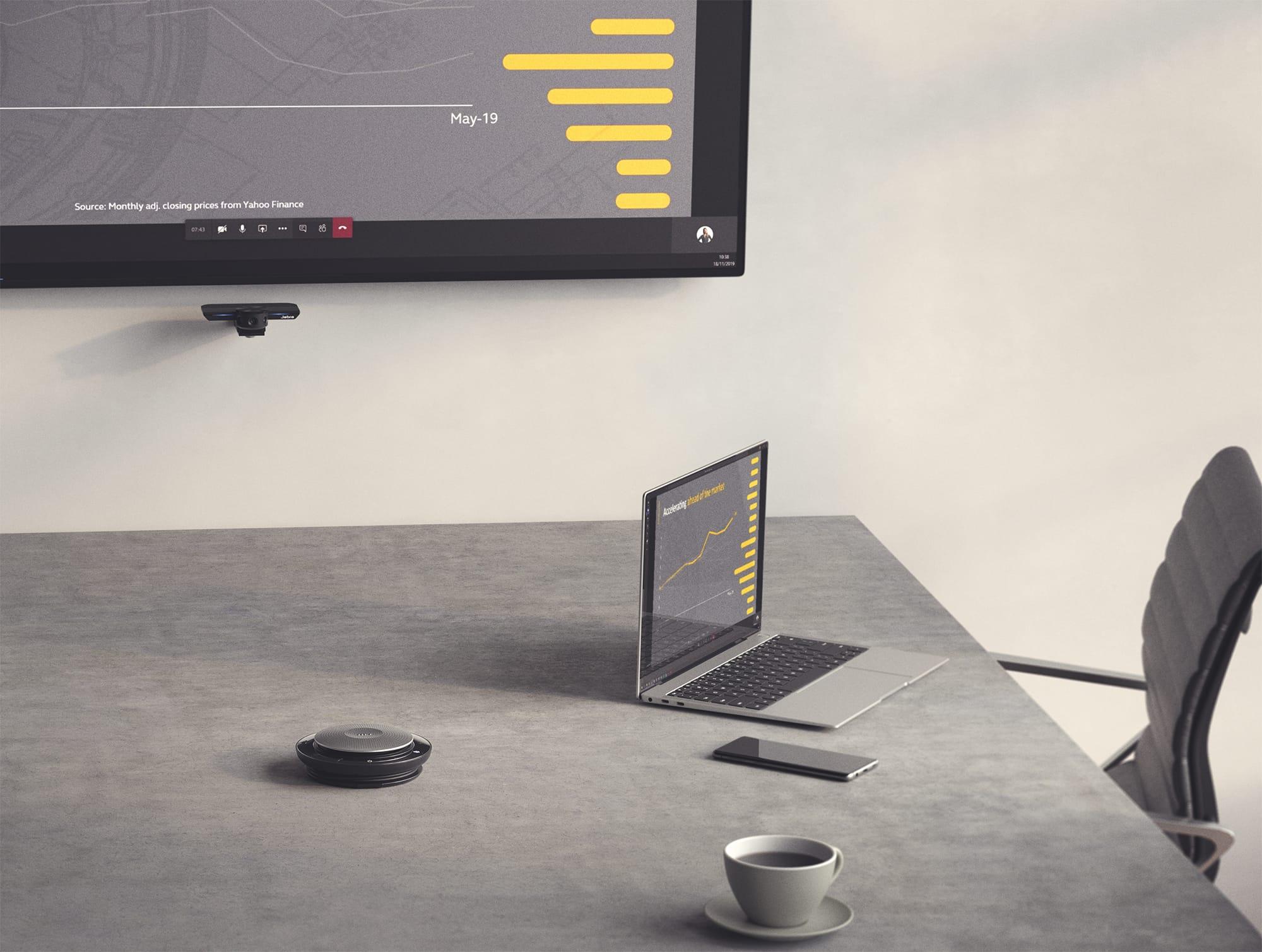 会話の中断や通話品質が改善され、オンライン会議の効率がアップする。