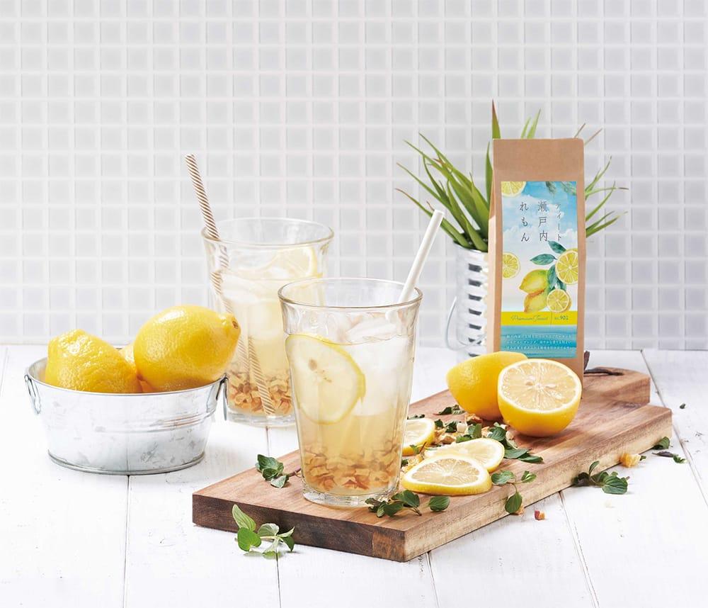生産農家から規格外のレモンを直接買い取ってドライ加工した「ティート瀬戸内レモン」。