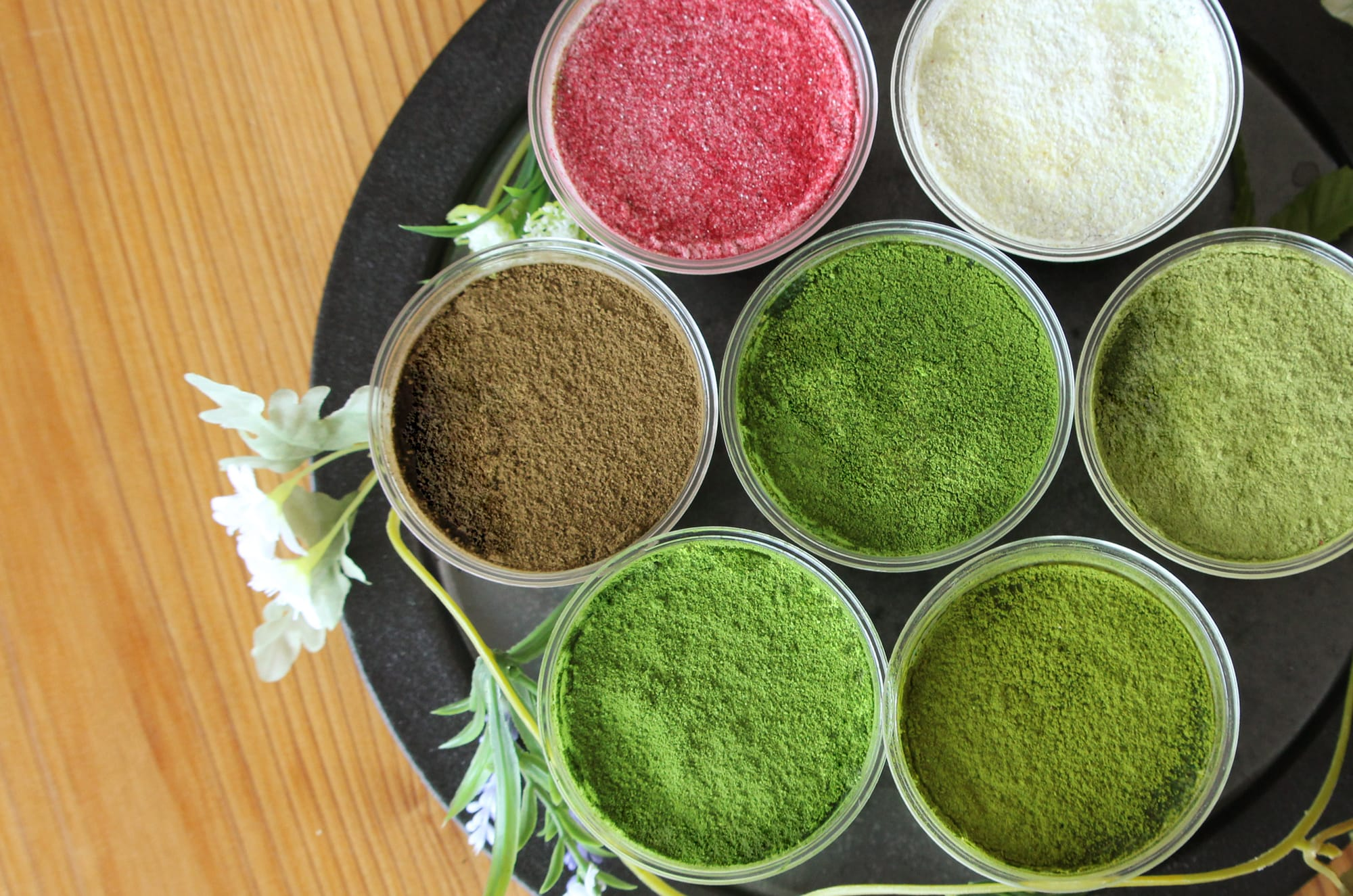 玉露や抹茶、煎茶など7種類をティラミス「宇治茶ティラミスセブン~玉露スペシャル」。