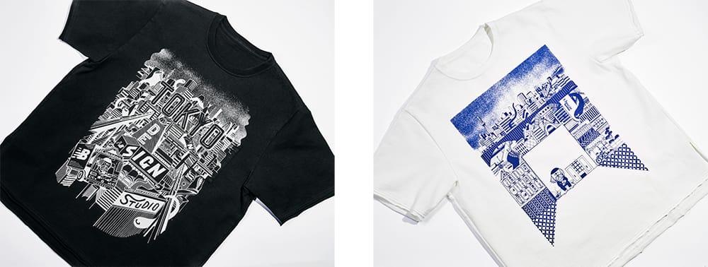 東京デザインスタジオ ニューバランスと、ロンドン在住のイラストレーター秋山貴世のコラボレーション。13,000円(税別)