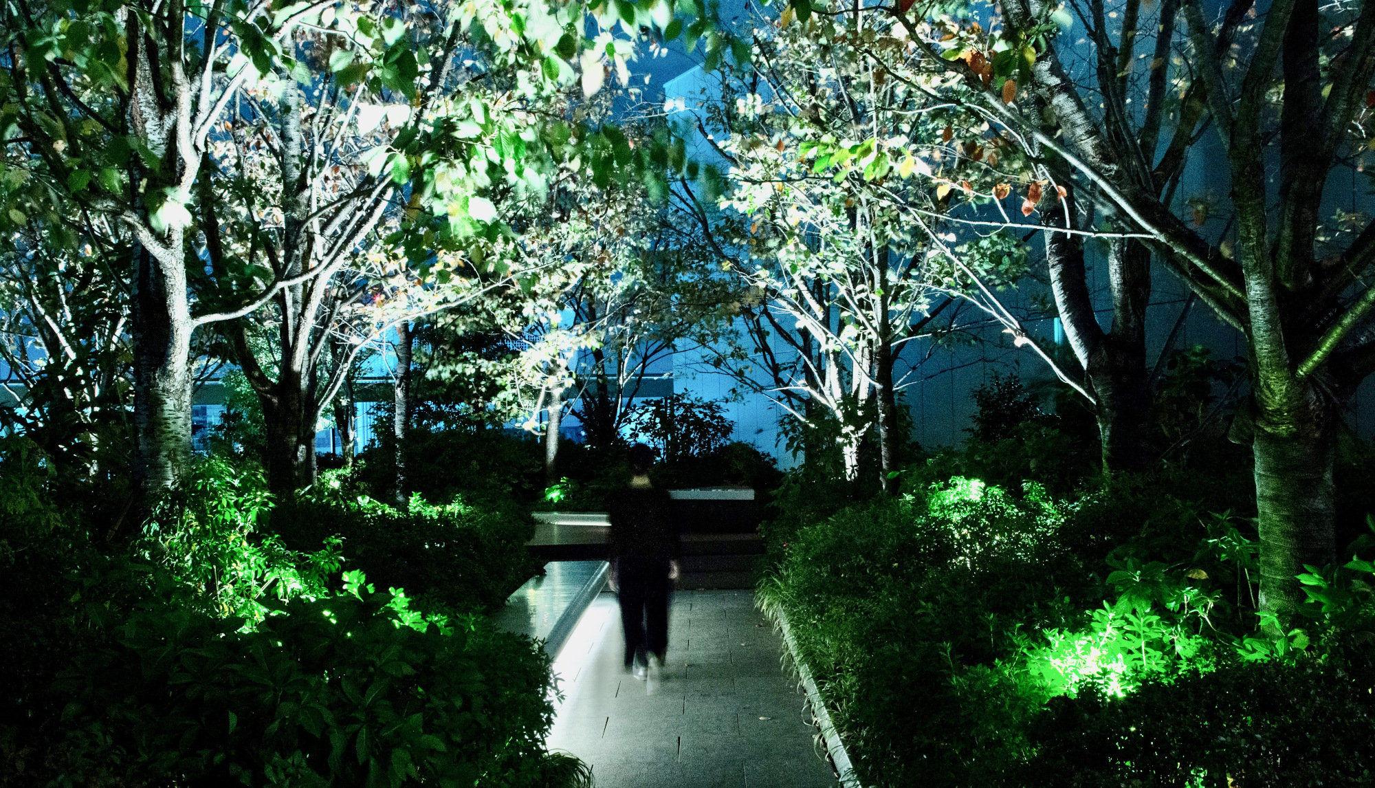 GINZA SIXガーデン(屋上庭園)の森で、この冬3ヶ月間だけ体験できる新しい音との出会い。