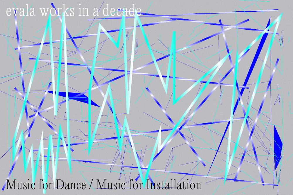 サウンドアーティストevalaによる過去10年の作品の中から、空間インスタレーションのために作曲された音源を「Music for installation」シリーズとして配信している