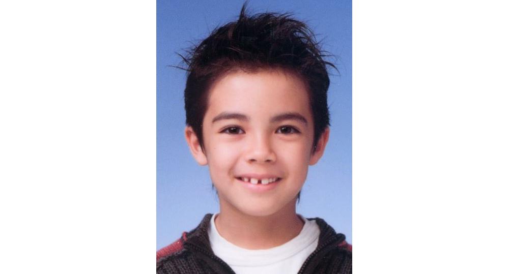 LEO9歳のとき