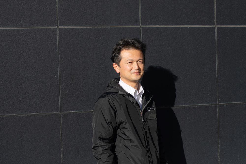 レクサスLSのマイナーチェンジを手掛けた、レクサス製品企画を担当する岩田裕一。