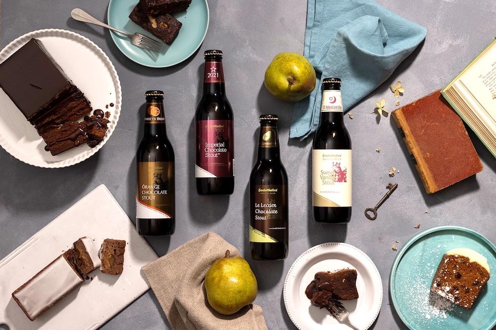 濃厚ビターな「サンクトガーレン」のチョコレートビール
