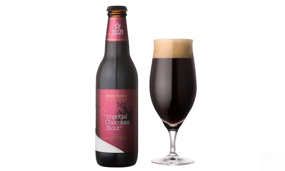 「インペリアルチョコレートスタウト」(税抜600円)はアルコール9%。ワインのように2年間熟成が可能。