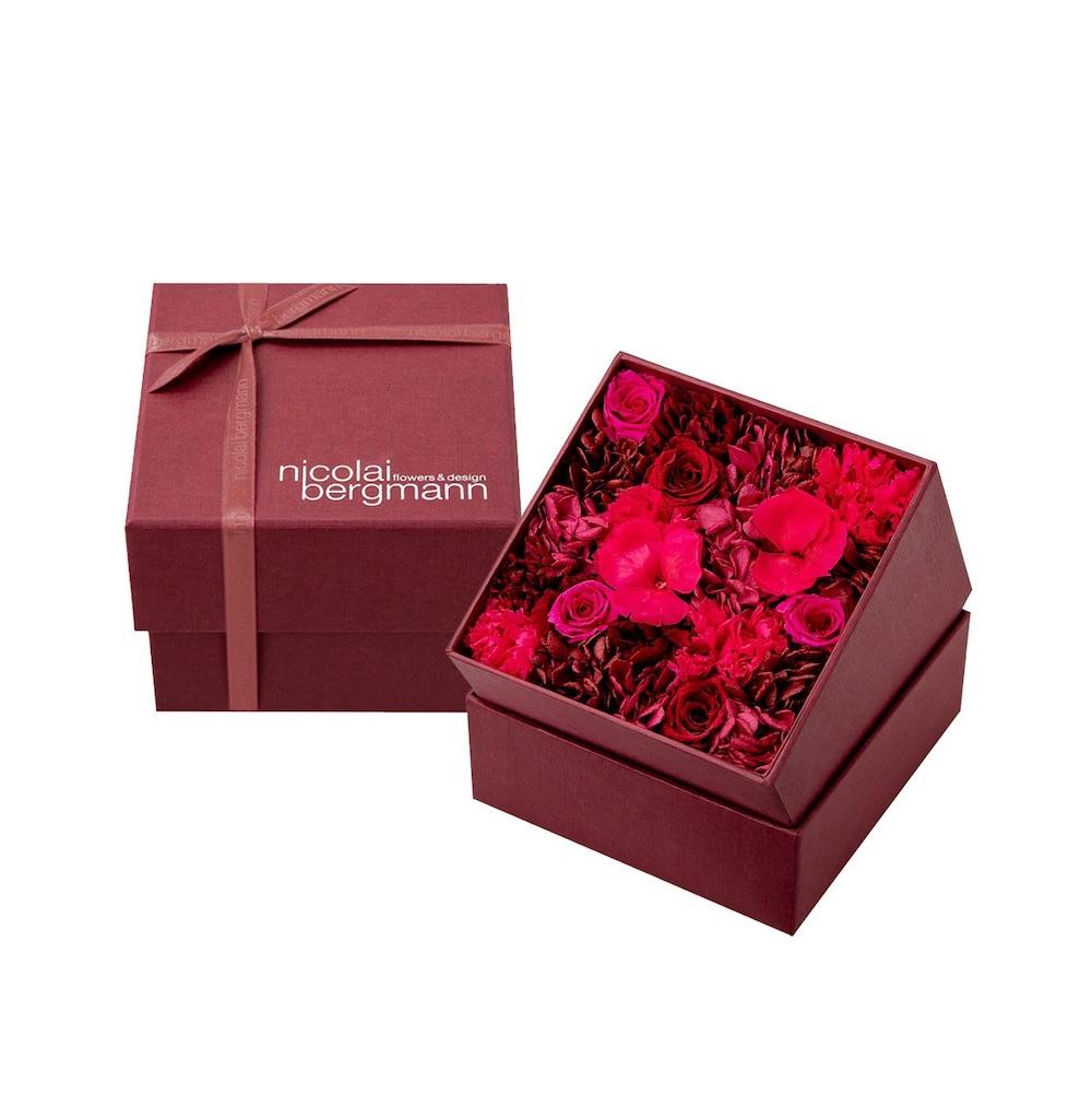 ニコライバーグマンのバレンタイン&ホワイトデー限定プリザーブドフラワーボックス