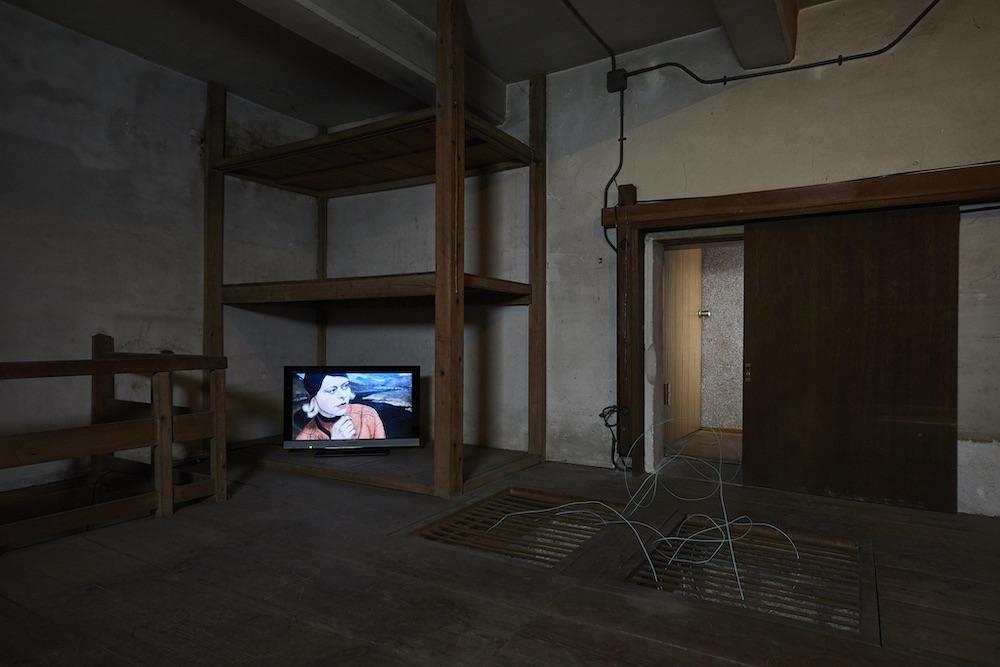 落合多武士の個展、「ショパン、97分間」の展示風景画像
