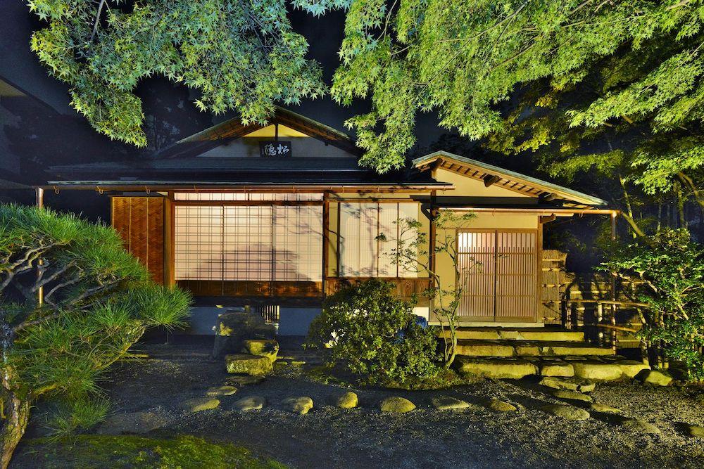 京都の国指定名勝「松花堂庭園」の草庵「松花堂」