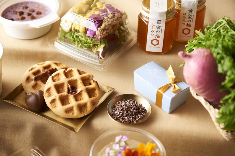 「GODIVA café Tokyo」と福井県のコラボレーションメニュー
