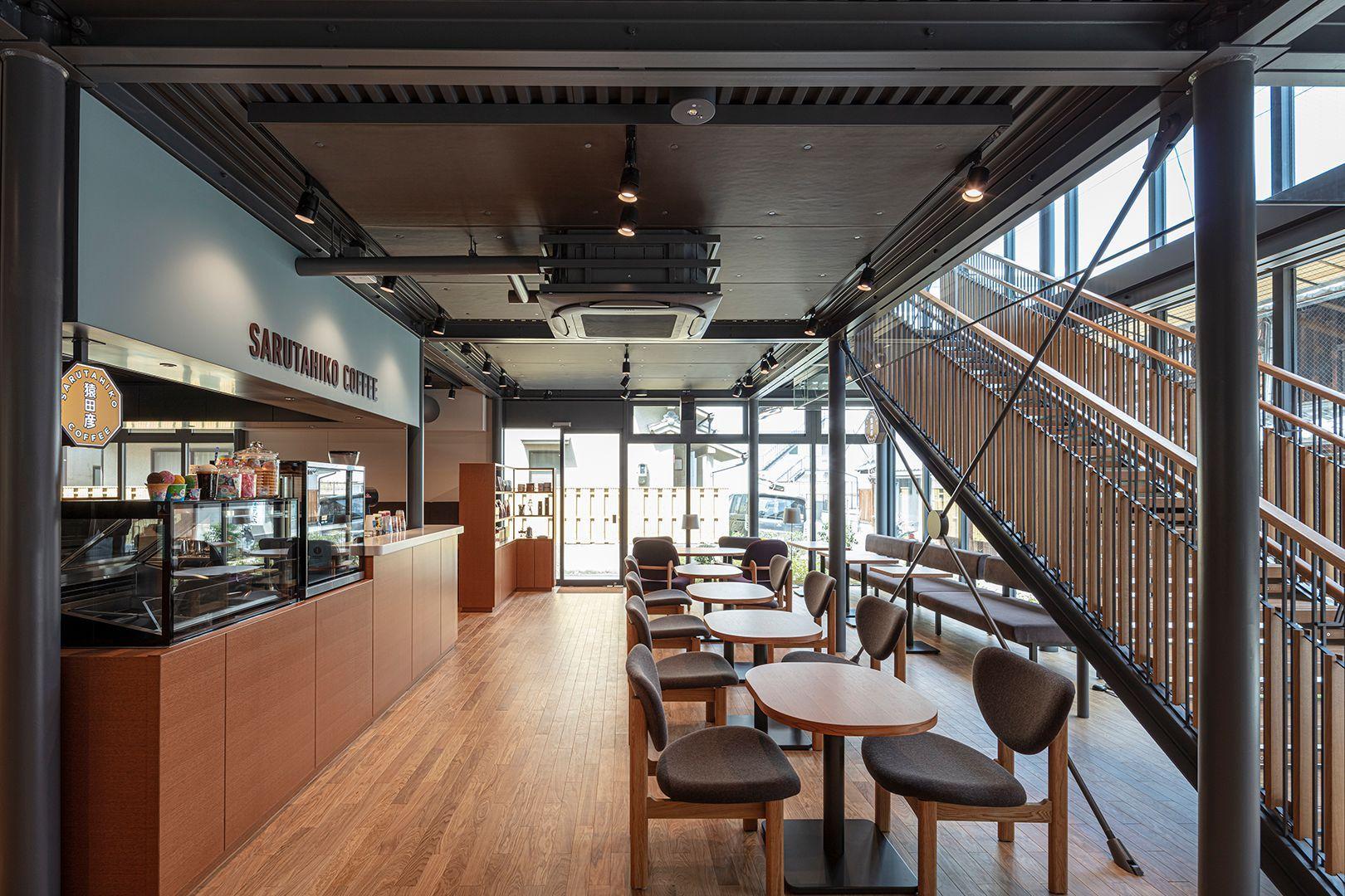 奈良県初の出店となるスペシャリティコーヒー店「猿田彦珈琲」オリジナルの「ならまちブレンド」がある。