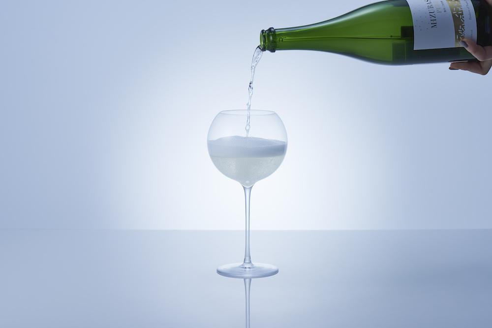 スパークリング日本酒専用グラス「イメルション」