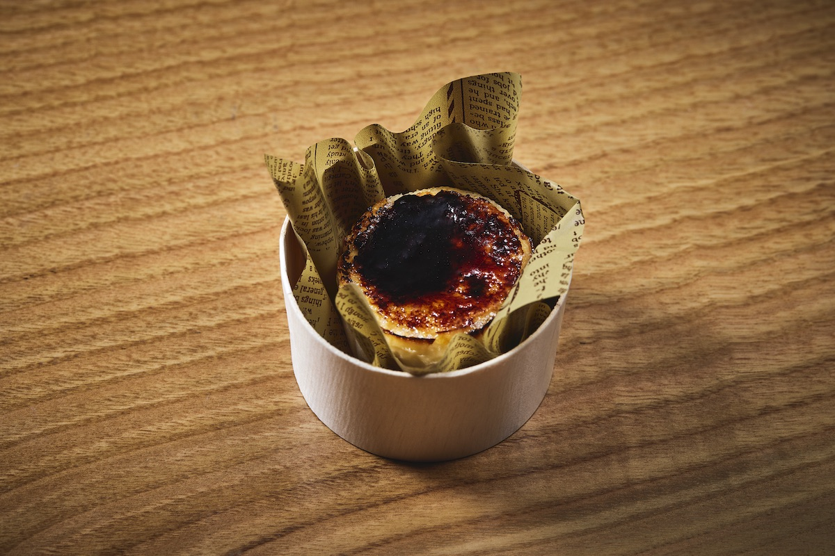 エネコ東京のバスクチーズケーキ