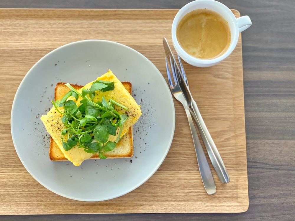 トースト作家山口繭子さん考案のくずしだし巻き卵トースト