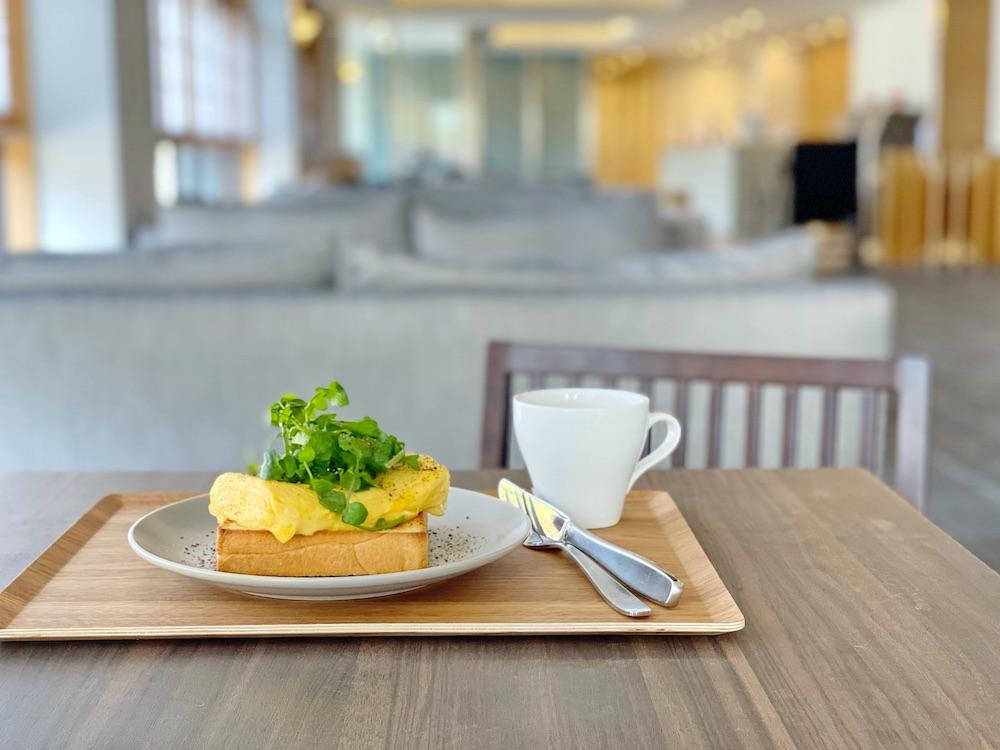 アリストンホテル京都十条 くずしだし巻き卵トースト