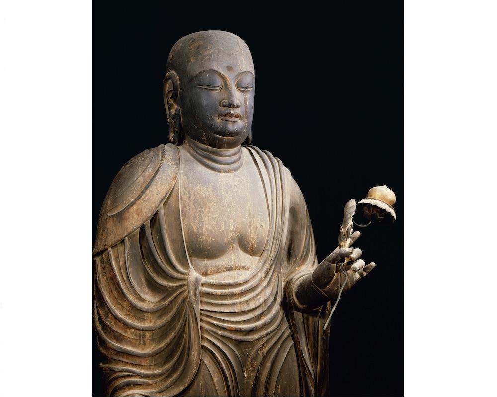 法隆寺国宝「地蔵菩薩立像」