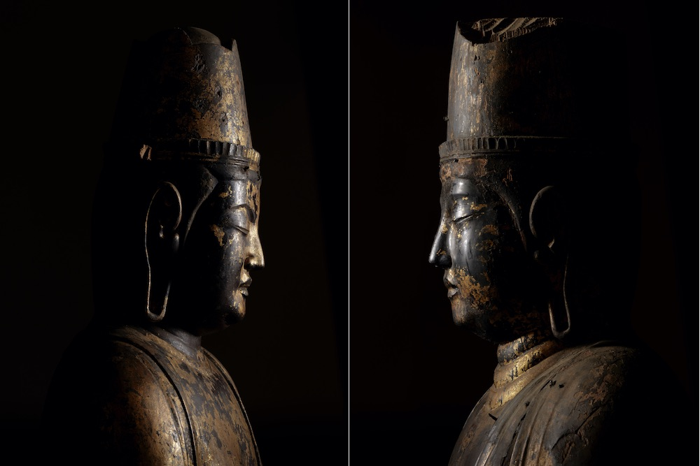 正暦寺「日光菩薩立像」、「月光菩薩立像」