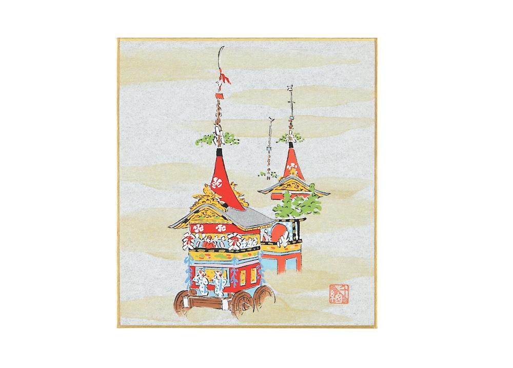 友禅色紙 祇園祭