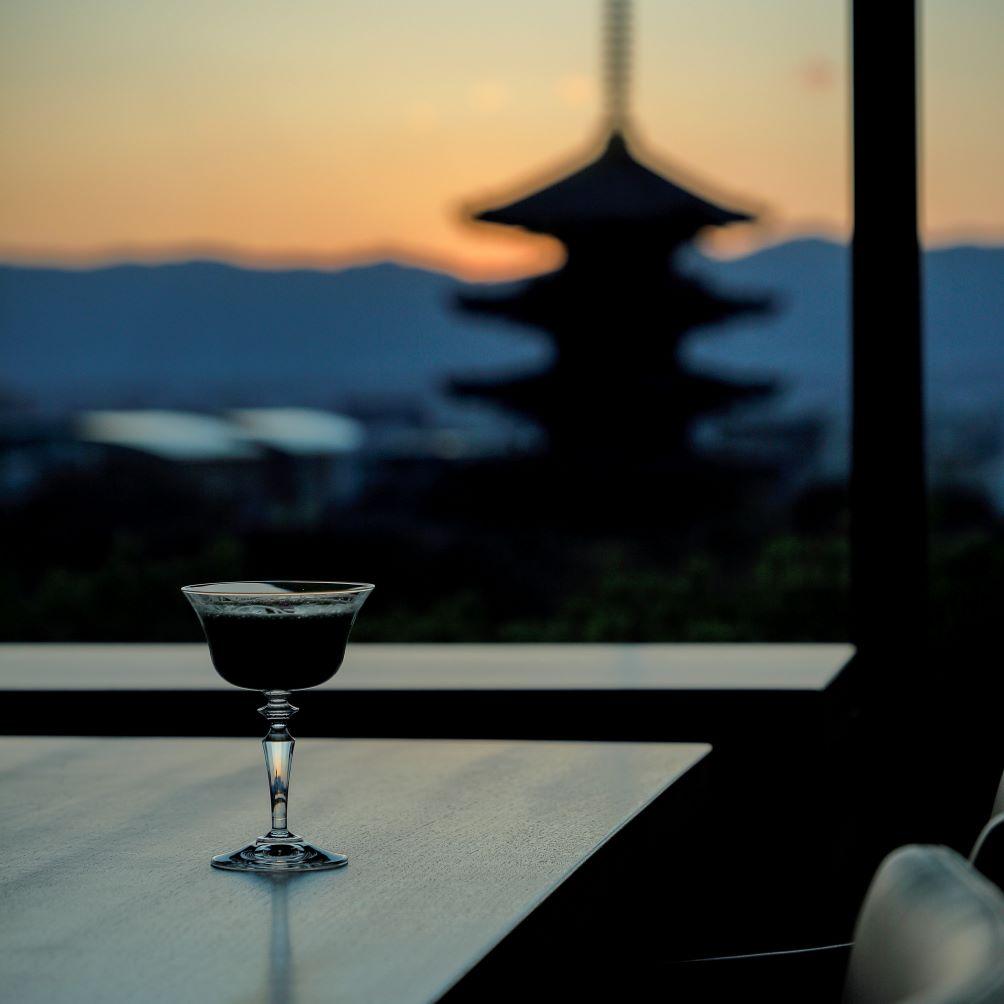 オリジナル・カクテルの数々も、京都にインスパイアされて創意あふれている。
