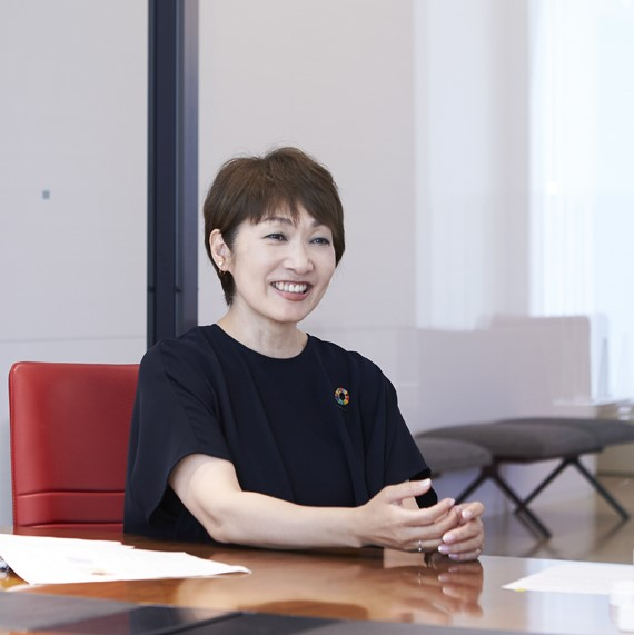 ダイバーシティ&インクルージョン室の横山加津子氏
