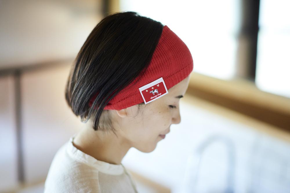 中川政七商店 奈良のくつしたやさんとつくったヘアバンド